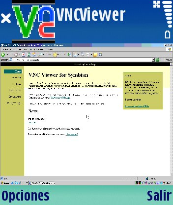 VNC Viewer for Symbian