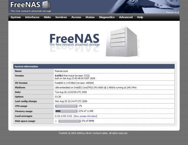基于 FreeBSD 的小型操作系统:FreeNAS 11.3-U3.1