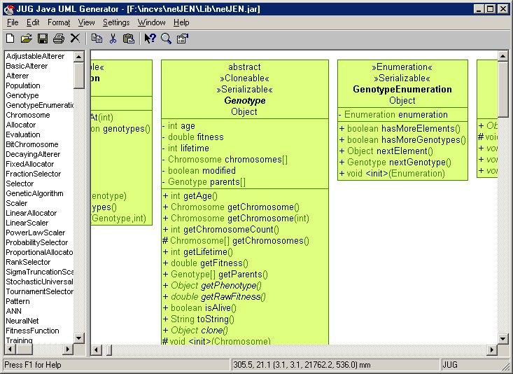 Java UML Generator