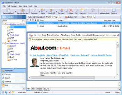 DreamMail的类似软件 - 电子邮件软件 - 开源中国