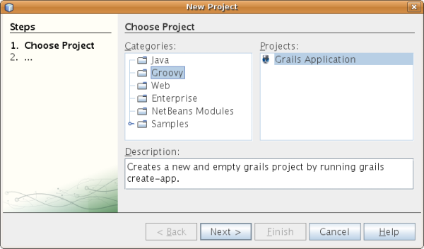 Grails - NetBeans Integration