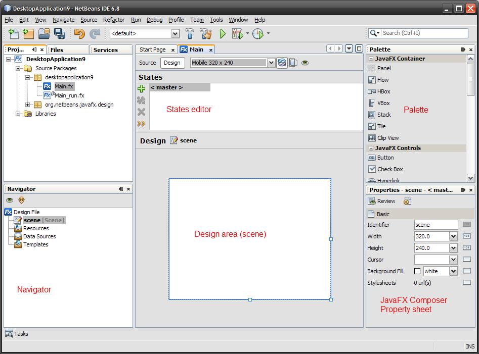 JavaFX Designer for NetBeans