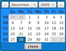Prototype Calendar
