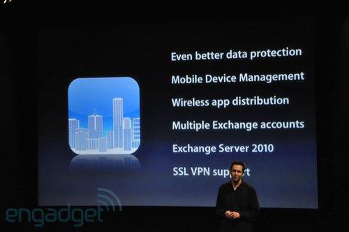 苹果发布iPhone OS 4.0 七大改变解析