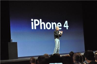 Apple发布iPhone 4:最薄最酷的智能手机