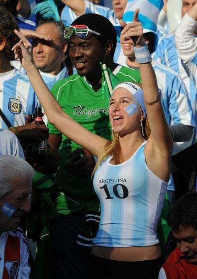 Argentina World Cup 2010 Babes