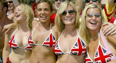 England World Cup Babes 2010