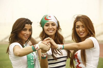 2010 World Cup Babes of Algeria
