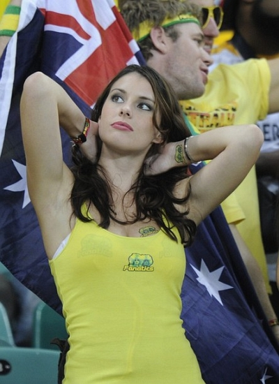 Australia Babe of the World Cup 2010