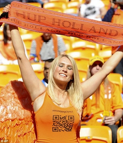 2010 World Cup Dutch Babe