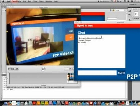 Android P2P App built with Adobe AIR Adobe AIR 2.5 Brings P2P Flash Video Chat to Android Devices   So Called P2P FaceTime