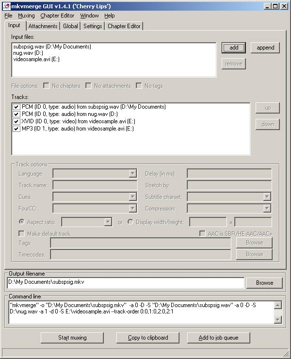 MKV 视频编辑工具:MKVToolNix v46.0.0