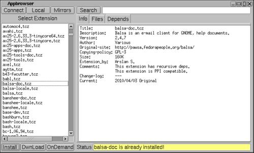麻雀虽小五脏俱全 最小Linux系统试用