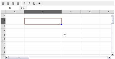JQuery.Spreadsheet UI