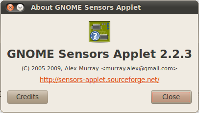 GNOME sensors