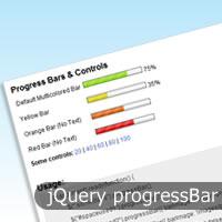 jQuery progressBar