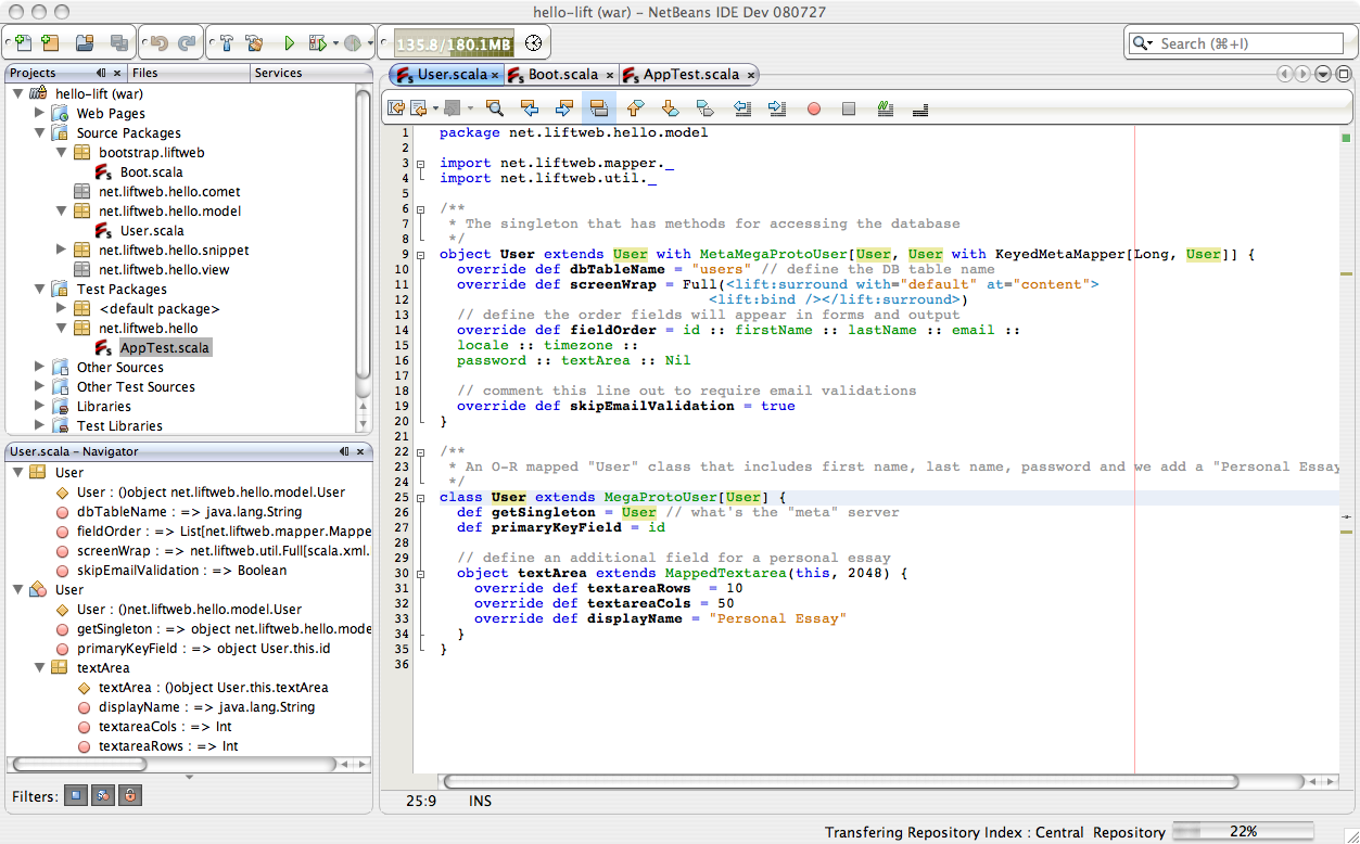 Scala Plugin for NetBeans