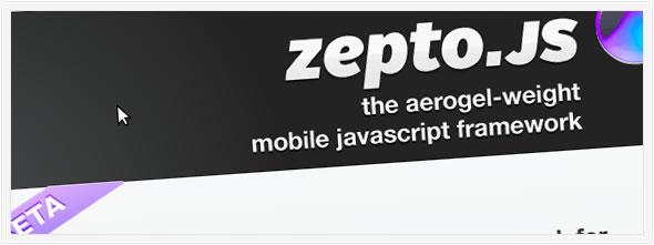 zepto Javascript framework