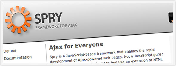 Spry Javascript Framework