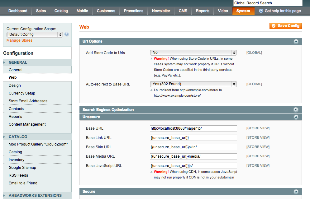 iphone/ipad/pc 访问 localhost->magento website